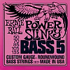 ERNIE BALL 2821 POWER SLINKY 5-STRING BASS ROUND WOUND 50-135
