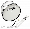 BASIX MARCHING BASS DRUM 24x12